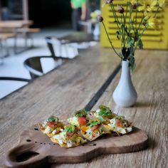 #Bali #Balangan. It is time for #LiteBite at @Cafe_LaPasion. You must try their Tuna Tostadas (45k): marinated fresh tuna in soy sauce ginger lemon grass on corn tortilla jalapeños so tasty & refreshing.