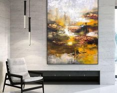 Handmade painting by professionals 🎨🎨 Bedroom Paintings, Artist Work, Modern Wall Decor, Large Painting, Texture Art, Original Art, Interior Decorating, Etsy Seller, Artists