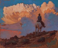 william ritzel=artist carmel ca. Kunst Inspo, Art Inspo, Art And Illustration, Cowboy Art, Southwest Art, Country Art, Le Far West, Traditional Paintings, Art For Art Sake