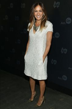 Sarah Jessica Parker in L'Agence at AOL Event | Tom & Lorenzo