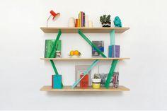 Bibliothèque Le Père Goriot - Collection de meubles cousus par Elsa Randé // © Elsa Randé