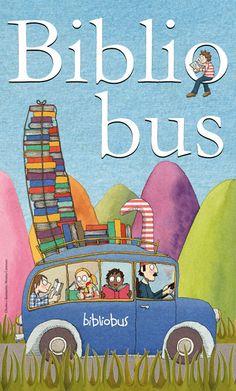 """""""Bookmobile"""" - illustration by Momo Carretero"""