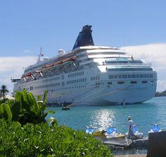 Norwegian Majesty in St. George's Harbor, Bermuda
