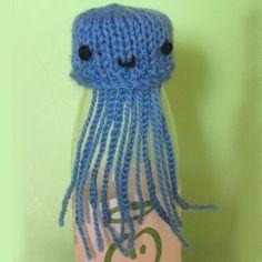 Big knit hat Jelly fish / Goedgemutste breicampagne mutsje kwal