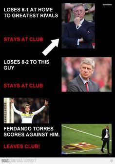 Fernando #Torres scores against him #Pep leaves the club !