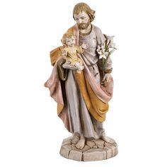 Figura San José 30 cm Fontanini similar porcelana | venta online en HOLYART
