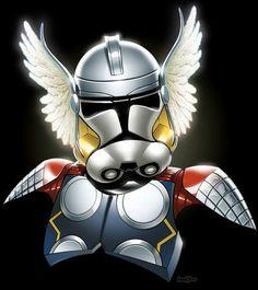 Clone Trooper/Thor mash-up