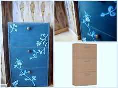 ikea1 Miss Mustard Seeds, Milk Paint, Filing Cabinet, Painted Furniture, Storage, Crafts, Painting, Home Decor, Ideas