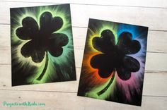 This shamrock art is beautiful and so fun for kids to make Kids will love using this easy chalk pastel technique to create a brightly colored St Patrick s Day craft Free shamrock template included Spring Art Projects, Toddler Art Projects, Spring Crafts For Kids, Art For Kids, Saint Patricks Day Art, St Patricks Day Crafts For Kids, March Crafts, St Patrick's Day Crafts, Bunny Painting