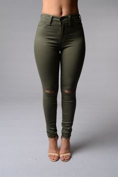 Canopy Jeans - Olive