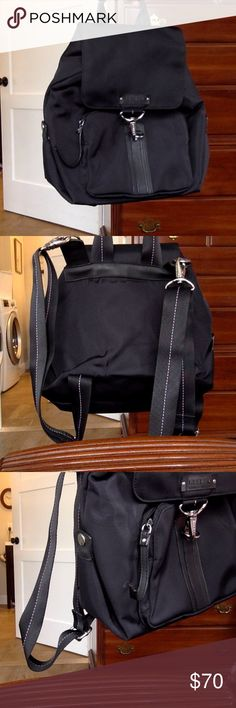 Lauren Ralph Laurene backpack In a great condition. The flaw is shown in one of the picture. The bag itslef is slighlt used Lauren Ralph Lauren Bags Backpacks