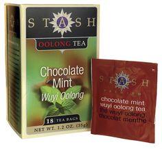 Traditional Chocolate Mint Wuyi Oolong Tea 18 Bag(S)