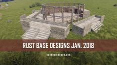 380 RUST Base Designs captured for January 2018