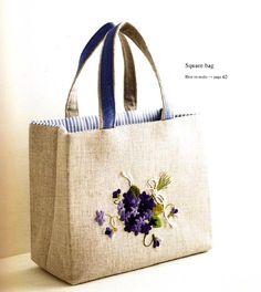 Square Bag by Reiko Mori