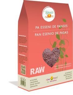 Pan Esenio de Pasas - Raw Food www.rawfooddietforlife.com
