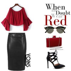 Yoins 25 by edita-m on Polyvore featuring polyvore, fashion, style, Ray-Ban and clothing