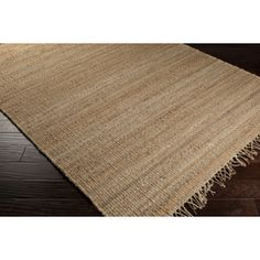 JUTE NATURAL - Surya | Rugs, Pillows, Wall Decor, Lighting, Accent Furniture, Throws, Bedding