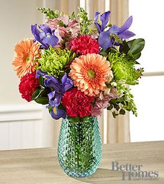 The FTD® Joyful Moments Bouquet by Better Homes and Gardens® - VASE INCLUDED