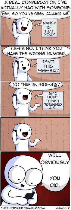 Theodd1sout comics are AWESOME