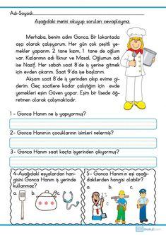 Learn Turkish, Turkish Language, Worksheets, Islam, Education, Learning, Words, School, Turkish People