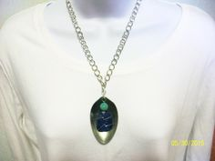 Item 1827-Upcycle Tablespoon Necklace-Sells for $9.00. Get a link to my Website ecrater.com at the top of my Page and order with Pay Pal. FREE SHIPPING AND HANDLING