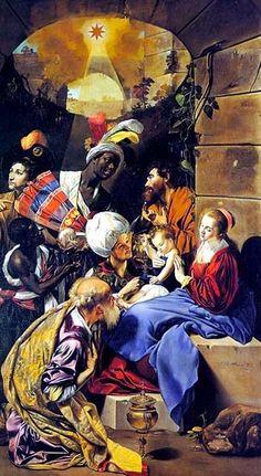 Juan Bautista Maíno (1578-1649): La Adoración de los Reyes Magos.