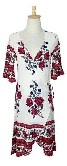 Rest on your florals. Only  $16.99 now.Go check this dress on Firevogue.com