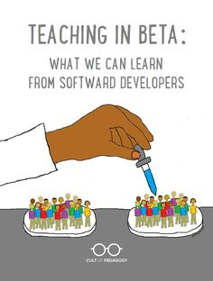 If we treated our teaching the way developers treat software, we'd end up with a better product and greater job satisfaction. #CultofPedagogy Educational Leadership, Educational Websites, Educational Activities, Educational Technology, Cult Of Pedagogy, From Software, Job Satisfaction, Professional Development, Software Development