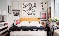 eclectic bedroom is all about finding that right balance between what you love. In this post we have a collection of 25 cool eclectic bedroom design ideas City Bedroom, Home Bedroom, Bedroom Decor, Bedroom Ideas, Modern Bedroom, Design Bedroom, Bedroom Inspiration, Glam Bedroom, Bedroom Benches