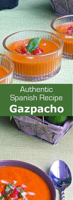 Served very cold and traditionally prepared in a mortar, gazpacho typically…