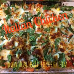 Italian Chicken, tomatoes, artichoke hearts