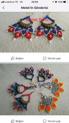 Lace Jewelry, Textile Jewelry, Textiles, Needle Lace, Knots, Diy And Crafts, Earrings, Handmade, Rosaries