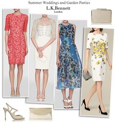 L.K. Bennett wedding outfits and occasion dresses spring summer 2015 collection