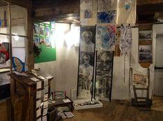 Exhibition Moulton Windmill Stoke On Trent, Cumbria, Magpie, Windmill, Textiles, Culture, Artist, Blue, Inspiration