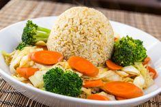 Thai Garlic Vegetables Vegan :)