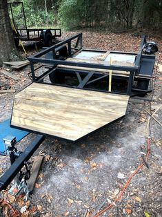 Getting the treated plywood cut for all the platforms Toyota 4runner, Tacoma Toyota, Hunting Trailer, Platform Deck, Off Road Camper Trailer, Welding Rigs, Overland Trailer, Custom Trailers