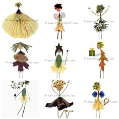 WHOLESALE ORDER Petal People note cards Print of by PulpArt