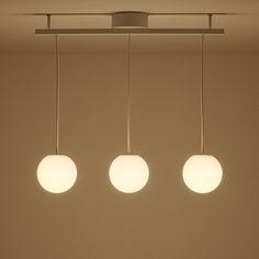 LEDシリコーンペンダントライト3灯タイプ ハイパワーLED2.3W×2灯 3灯   無印良品ネットストア