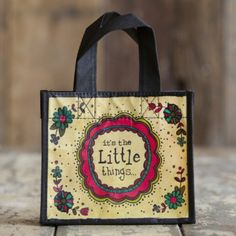 Little Things Recycled Gift Bag