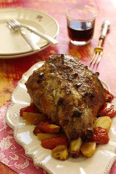 Cinco Quartos de Laranja: Perna de borrego assada no forno com alecrim