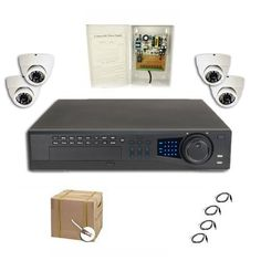 COMPLETE 4 CHANNEL ULTIMATE DVR SECURITY CAMERA SURVEILLANCE SYSTEM WITH BULK CABLE by Security Camera. $1200.63. Our Ultimate Series DVR features embedded Linux OS, remote monitoring from anywhere in the world, audio recording on all channels,H.264 compression, VGA, BNC and HDMI video outputs. This is NOT a PC based DVR which is subject to viruses and hacking. This is a standalone unit built for only one purpose. This DVR features professional grade components and is ma...