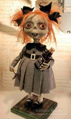 Little zombie, so adorable♡♡♡♡