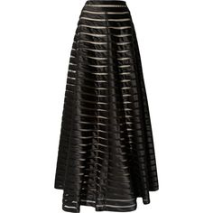 Temperley London Satin and tulle maxi skirt ($808) ❤ liked on Polyvore featuring skirts, bottoms, saias, maxi skirts, long skirts, black, temperley london, long tulle maxi skirt, long tulle skirt and tulle skirt