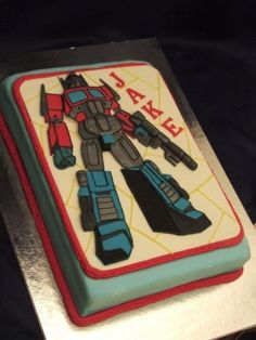 Top Transformers Cakes