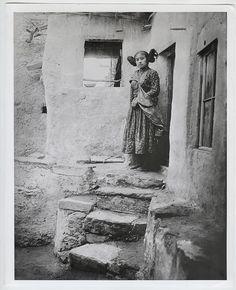 "Adam Clark Vroman ICONIC ""Hopi Maiden c.1902"" Ferrotyped Press Photo"