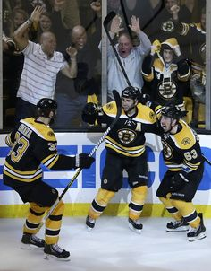 Patrice Bergeron gets the game winner in overtime! Boston Bruins