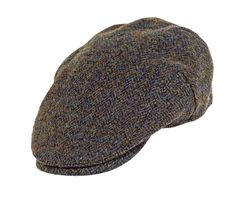 9f09c698ed44e Highland Harris Tweed Flat Caps Forest Green £32.00