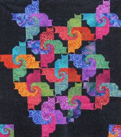 This is an original fat quarter friendly quilt pattern, no matter how you slice it. Included are the fabric requirements in both yardage and