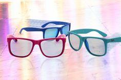 Pop et fun ces nouveaux coloris pour les Ray-ban Justin disponibles sur http://www.visiofactory.fr/267-ray-ban-justin
