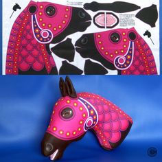 Diy Back To School, Carousel Horses, Horse Head, Cushion Cut, Softies, Spoonflower, Organic Cotton, Designers, Carving